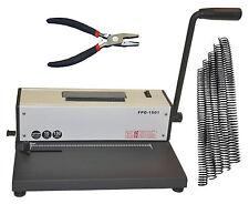 Coil Spiral Binding Machinemetal Spiral Binderelectric Insertpliers200 Coils