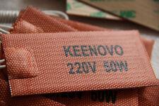 "2""X4"", 50W@220V, 3M PSA, 1m Power Leads,Keenovo Univeral Silicone Heater Pad/Mat"