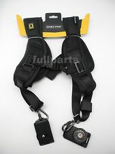 Quick Rapid Neck Double Shoulder Belt Strap For Canon Nikon Sony Dslr Camera