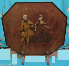 VINTAGE FIRE SCREENS GUARDS WOOD WOODEN FURNITURE