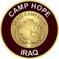 """Camp Hope 5.5"""" Die Cut Sticker / Decal"""