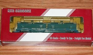 RED CABOOSE RR-32508-11 100 TON EVANS COIL CAR GRAND TRUNK WESTERN GTW 307101