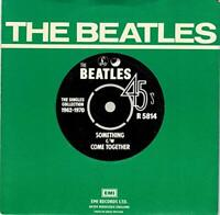 """Vinyl 7"""" THE BEATLES Something / Come Together"""