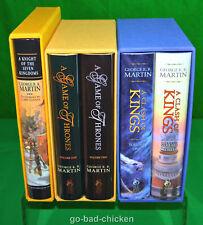 A Game of Thrones A Clash Of Kings & AKOTSK George R R Martin SUBTERRANEAN PRESS