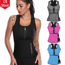 Sauna Thermo Sweat Waist Trainer Vest Body Shaper Tummy Slimmer Belt Corset Top