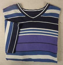 Herren-Shirts aus Baumwolle mit V-Ausschnitt und Stretch
