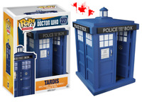 "Funko POP! Television BBC Doctor Who 227 Tardis Police Public Call Box 6"" Figure"