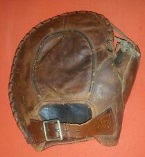 Antique Rare Tom Quinn 1920's Western Wilson Leather Baseball Glove