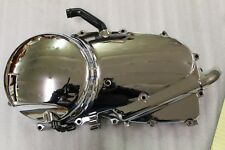 Kawasaki Vulcan 900 VN900 Classic Engine Side Cover Clutch Cover Chrome Used 09