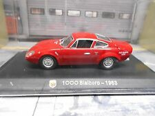 FIAT Abarth 1000 Bialbero Coupe 1963 rot red Metro IXO M4 1:43