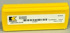 KENNAMETAL NG3094RK 1114037 Top NOTCH INSERT 6 PIECES KC935