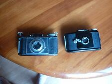Vintage kodak Camera lot of 2 Parts or repair Bantam Kodalinear