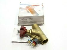 "1-1/4"" DN32 Victaulic/TA V-012-786-CBV Brass Balancing Valve 300PSI NEW IN BOX"