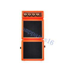 1pc Red 3.0 inch Power Mini 2W 9v Portable Battery Guitar Bass Amplifier Speaker