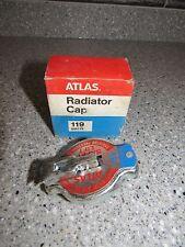 NOS Atlas Radiator Cap 119 Vintage 14-17 lbs Safety Lift Clean In Original Box