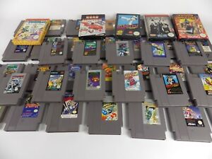 PAL NES Nintendo Entertainment System Games  - SAVE $$ On Combined Postage