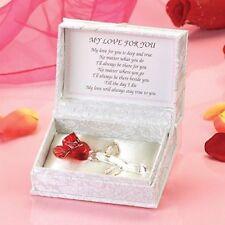 Red Rose Gift For Girlfriend Boyfriend Husband Wife Her Him Birthday Anniversary
