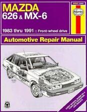 Mazda 626 and Mx-6: 1983 Thru 1991 Front-Wheel Drive Automotive Repair-ExLibrary