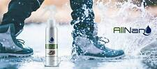 AllNano Dry Shoes, superhydrophobic nanotechnology coating, never wet shoes 100%