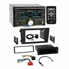 Pioneer CD USB Bluetooth Stereo Dash Kit Bose Harness for 2000-2003 Audi A6 S6