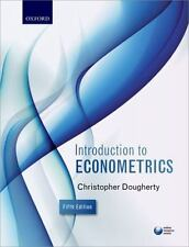 Introduction to Econometrics by Christopher Dougherty (2016, Paperback)
