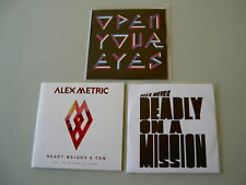 ALEX METRIC job lot of 3 promo CDs Deadly On A Mission Heart Weighs A Ton