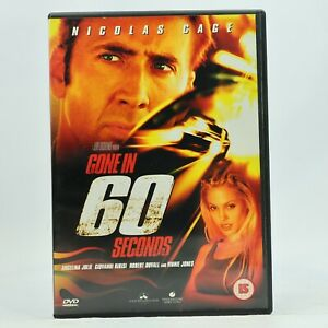 Gone in 60 Seconds DVD Nicolas Cage Angelina Jolie R2 GC