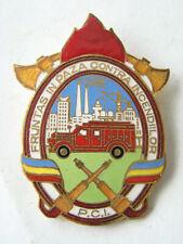 Romania FIREFIGHTER Badge, Contra Incendiilor -2