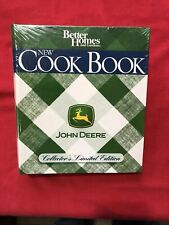 JOHN DEERE COOK BOOK COLLECTORS EDITION BHG GREEN EDITION FACTORY SEALED NEW!!