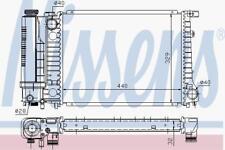 Motor de refrigeración por agua radiador manual Radiador Nissens Nis 60735 A