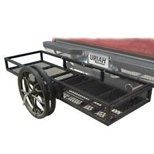 Uriah Products 2 In 1 Push Cart And Cargo Trailer Truck Hitch Attachment Rack