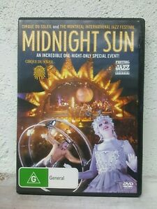Midnight Sun DVD Cirque Du Soleil - Paul Ahmarani Isabelle - Region 4