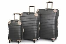 Spinner (4) Unisex Adult Plastic Expandable Suitcases