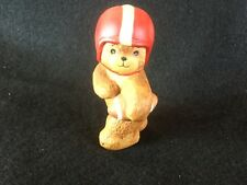 Vintage Enesco Lucy & Me Bear Figures Football 1980's