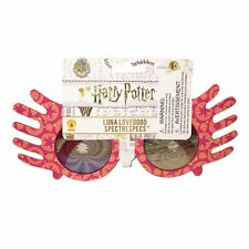Harry Potter Luna Lovegood Spectra Specs Pink Spectacles Costume Prop Accessory