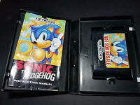 CIB! SONIC THE HEDGEHOG for Sega Genesis - Not For Resale! Authentic, COMPLETE!!