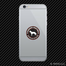 Danger Farting Australian Cattle Dog Cell Phone Sticker Mobile Die Cut