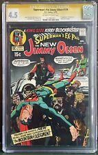 Superman's Pal Jimmy Olsen #134 (1970) CGC SS 4.5 1st Darkseid Signed Neal Adams