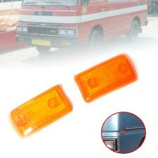 Side Marker Lamp Turn Signal Light Lens For Nissan Caravan Urvan E23 1980-1986