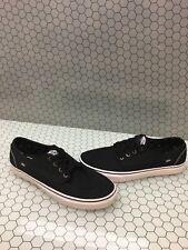 VANS Lo Pro Classic Black Canvas Lace Up Skate Shoes Men's Size 11