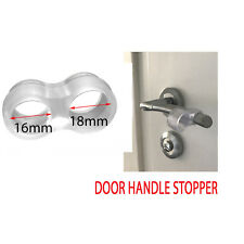 Wall Protector Door Handle Stop Rubber, Fixing Free Stopper Bumper Guard