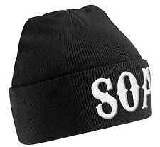 Sons Of Anarchy 'SOA' Beanie Hat - NEW & OFFICIAL!
