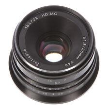 25mm F/1.8 Manual Focus Prime Lens For Sony E-mount A6500 A6300 NEX-7 6 5 Camera