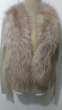 new design 100% real coyote fox fur waistcoat