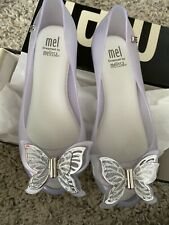 New listing Mini Melissa Ultra Girl Butterfly Clear 12