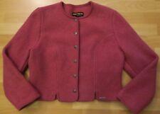 GEIGER Janker w.NEU! 199€ 42/XL Jacke rosa Wollblazer 100%Wolle Jacke Trachten