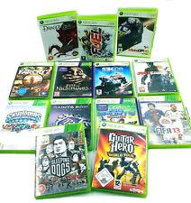 Lot de 12 Jeux Xbox 360 - PAL - Dragon Age, Fuel, Sleeping Dogs, Guitar Hero ...