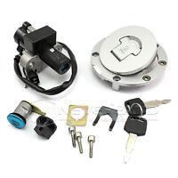 Ignition Switch Lock &Fuel Gas Cap Key For Honda CBR250 CBR400 VFR400  NSR250