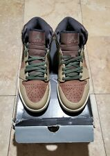 Nike Air Jordan Retro 1 Armed Forces Urban Haze Army Green Size 325514 231