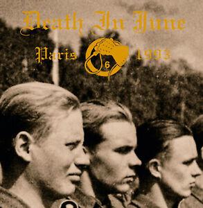 "DEATH IN JUNE LIVE PARIS 1993 LIMITED 7"" CLEAR VINYL"